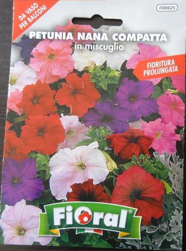 Semillas De Petunia Enana X 0,2 Gr (floral)