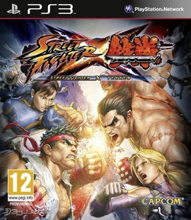 Street Fighter X Tekken ~ Ps3 Digital Español