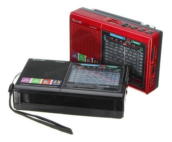 Caixa De Som Bluetooth Com Radio Lanterna Am Fm Usb Retro Sd