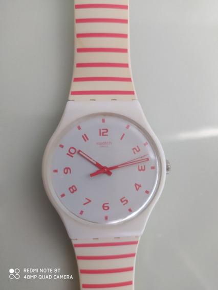 Relógio Swatch 100% Original Redure Suow150 Analógico