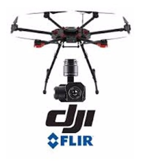 Dji Matrice 600 + Dji Zenmuse Xt 9hz 640x512 13mm Zxta13sp