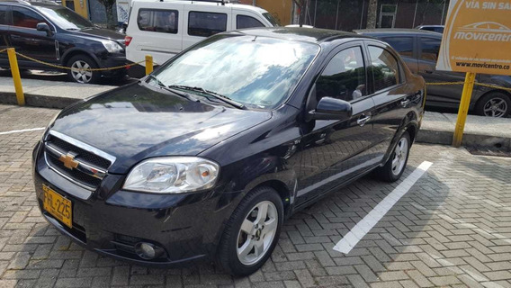 Chevrolet Aveo Emotion Full Equipo Mecanico Sedan Motor 1600