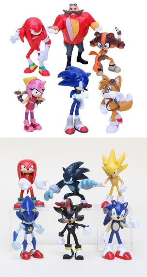 Sonic Generations Mod Shadow Bonecos Figuras Acao