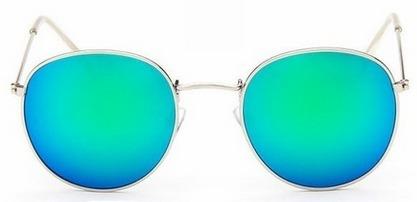 Oculos De Sol Feminino Vintage Espelhado Dourada Barato