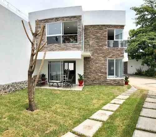 Preventa De Casas Nuevas En Condominio Con Excelente Ubicación En Jiutepec
