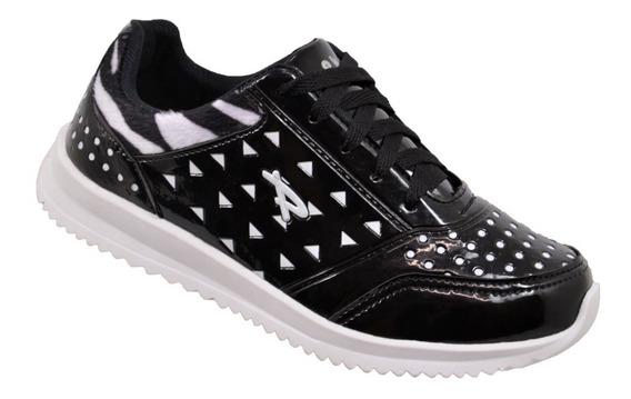 Tênis Adulto Pkn - 404a - Preto/zebra