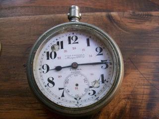 Reloj Antiguo De Bolsillo Suizo Ferrocarril Del Sud Zerma