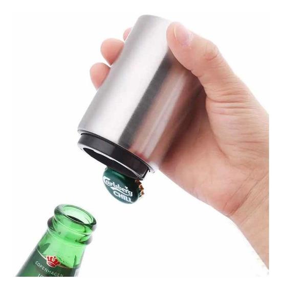 Destapador Botellas Magnetico Automático Acero Inoxidable