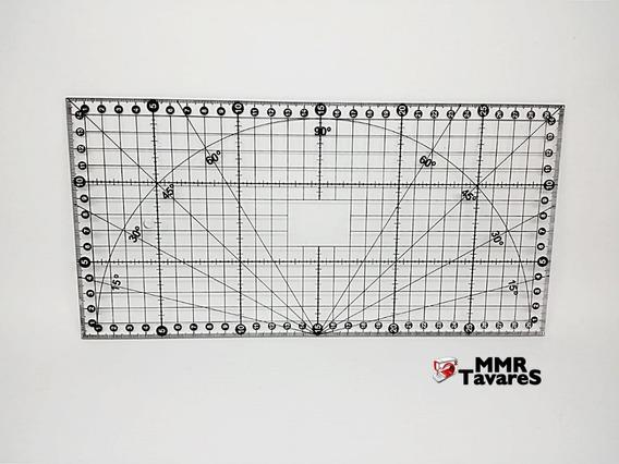 Regua Para Patchwork 15x30cm Scrapbook