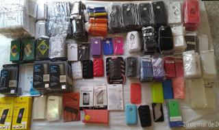 Capas Diversas Samsung, Iphones E Películas 800 Unidades