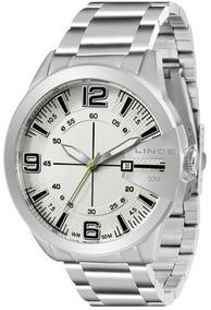 Relógio Lince Masculino Prata Mrm4333s-b2sx