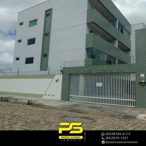 Apartamento Com 2 Dormitórios À Venda, 56 M² Por R$ 150.000 - Presidente Costa E Silva - Mossoró/rn - Ap4095