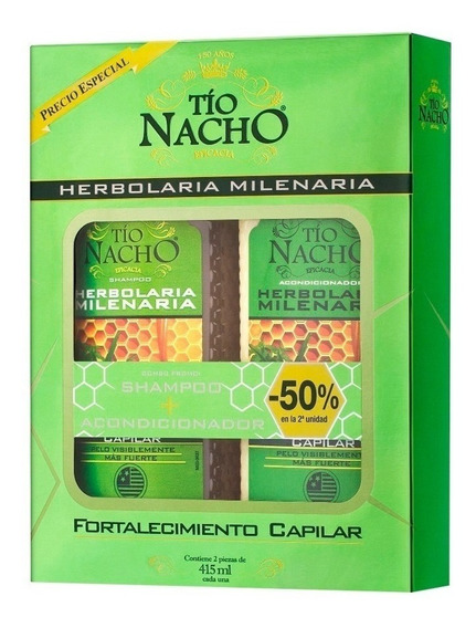 Tio Nacho Kit Shampoo + Acondciona Herbal Magistral Lacroze