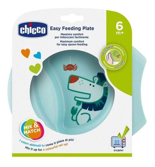 Chicco Plato Easy Feeding 6m+ Celeste 160012 E.full