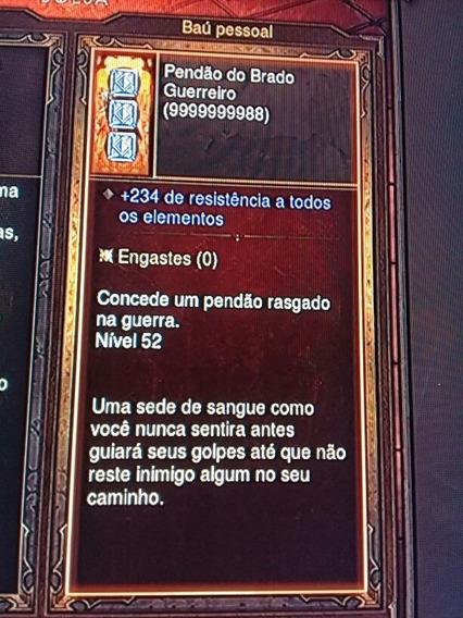 Itens Diablo Ros 3 Ps3 Pack 100% Econômico!!
