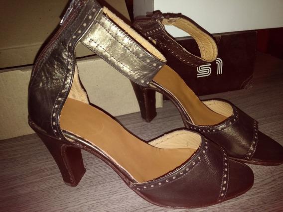 Liquido De Zapatos Mujer Cuero Varios Modelos N°36