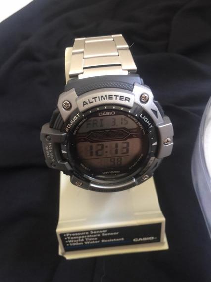 Relógio Casio Outgear Twin Sensor Sgw-300hd-1avdr