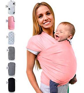Rebozo Fular Porta Bebé Maternidad Y Lactancia