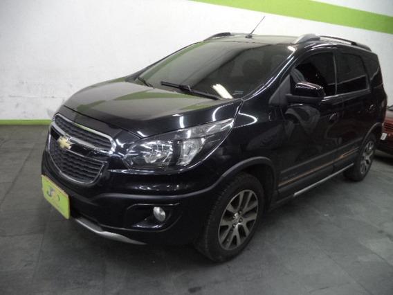 Chevrolet Spin Activ 1.8 8v Flex 5p Completo 2016 Preto