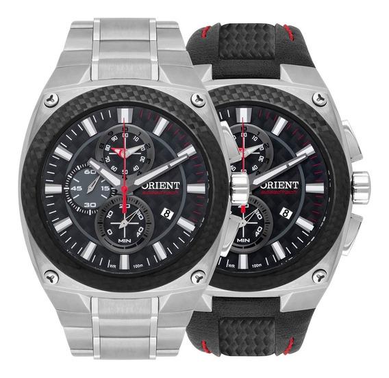 Relógio Orient Masculino Speedtech Kit Mtftc001 P1sx