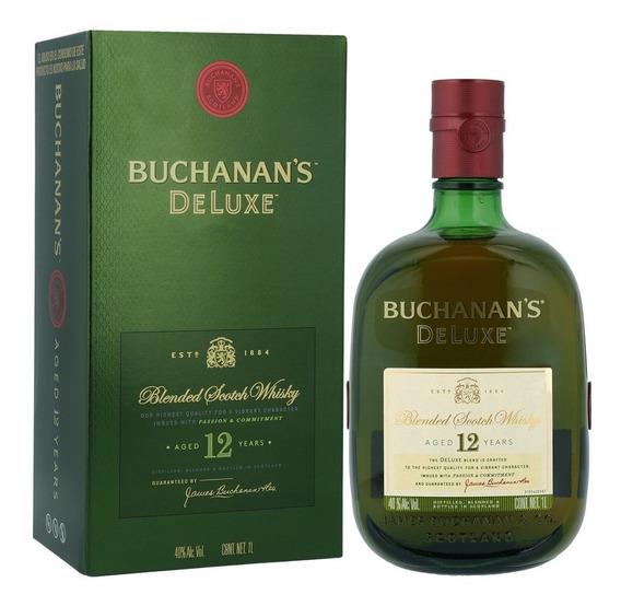 Buchanans 12 Años Destilado Whisky Botella 750ml