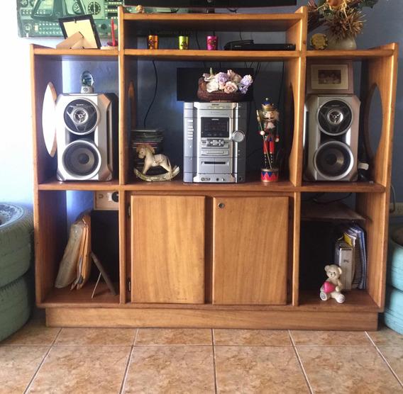 Mueble De Madera Y Componente Sony