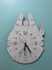 Relógio De Parede Star Wars Millennium Falcon