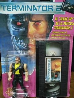 Terminator Jocsa Kenner Vhs Blister Juguete Antiguo Brazo