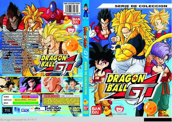 Dragon Ball Gt (completo)