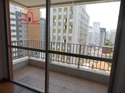 Apartamento Para Alugar No Bairro Paraíso Em São Paulo - - 2857-2