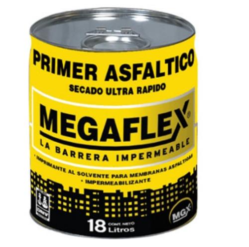 Pintura Asfáltica Megaflex X 18 Litros Serrentino