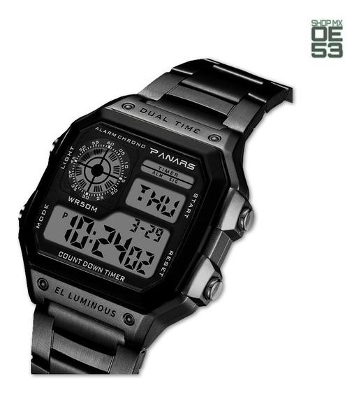 Oe53 Reloj Casual Negocios Resistente Agua Deportivo Crono