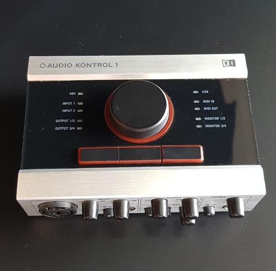 Placa De Som Profissional Audio Kontrol 1 Native Instruments