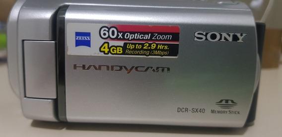 Camera Filmadora Sony Dcr-sx40