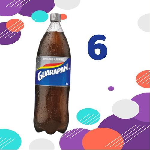 Refrigerante  Guarapan 6 Pet Dois Litros