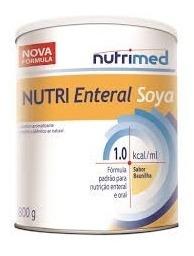 Nutri Enteral Soya 800g - Kit Com 4 Unidades