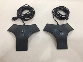 Kit Com 02 Microfones Audioconferência Cisco 7937g - Nf/gara