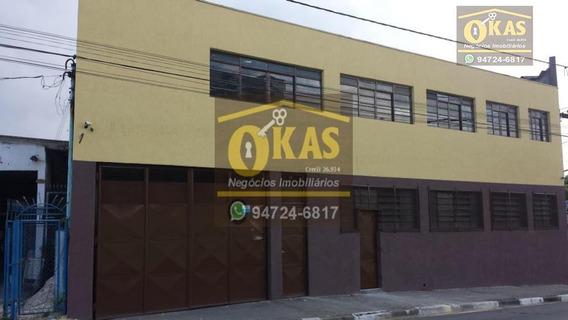 Galpão À Venda, 1500 M² Por R$ 2.650.000 - Vila Tanquinho - Ferraz De Vasconcelos/sp - Ga0024