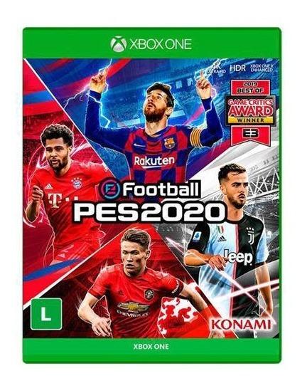 Efootball Pes 2020 Xbox One - Mídia Física