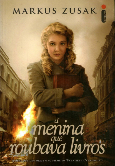 A Menina Que Roubava Livros - Markus Zusak - Seminovo...