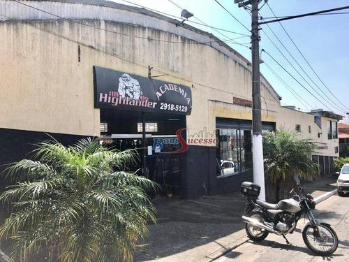 Salão Para Alugar, 600 M² Por R$ 7.000,00/mês - Jardim Vila Formosa - São Paulo/sp - Sl0176