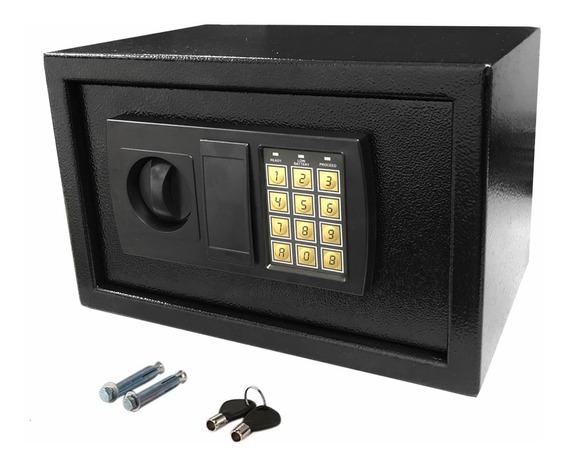 Caja Fuerte Reforzada 31x20x20cm Digital Electronica Teclado