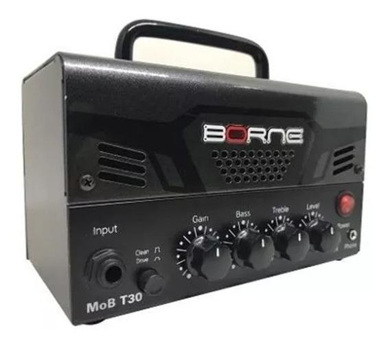 Cabeçote Amplificador Borne Mob T30 Bantamp Cores 30w Rms
