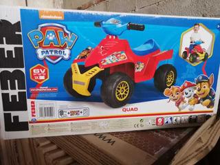 Moto Paw Patrol ( Montable Eléctrica)