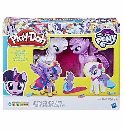 Set Masa My Little Pony Play-doh B9717 Hasbro Educando