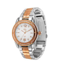 Relógio Dumont Troca Aro E Pulseira Feminino Sk75039b