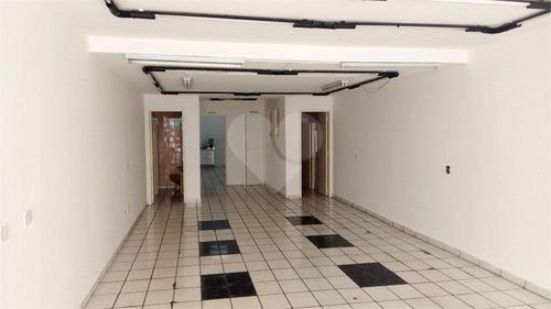 Loja/salão Comercial Com 125 M², 2 Banheiros E Copa Na Lapa Em São Paulo! - 308-im389464