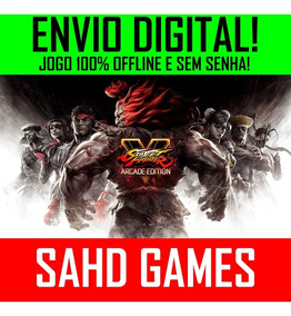 Street Fighter V 5 Arcade Edition Deluxe Pc +1 Jogo