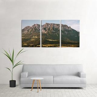 Quadro Decorativo Sala 60x120cm Montanhas Quarto Grande