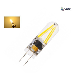 Lampara Bi Pin Led G4 1.5w 12v Calido X10